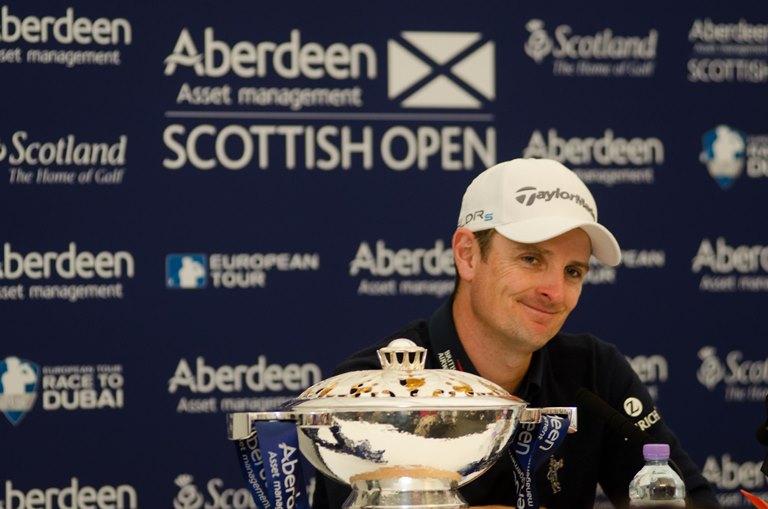 Rose Scottish Open 2014 gagnant