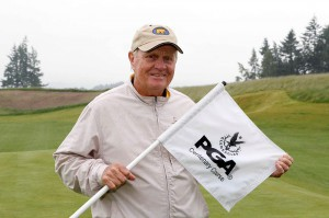Jack Nicklaus visit's The Gleneagles Hotel to see the changes to the newly reopened PGA Centenary Course, Host Venue for the 2014 Ryder Cup