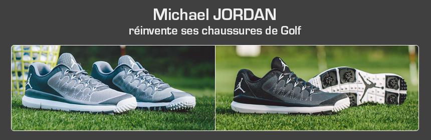 pas mal 8ae14 5cf09 De nouvelles chaussures de golf jordan