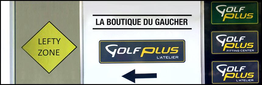 magasin golf gaucher