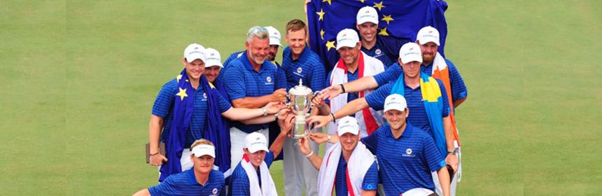 Equipe Europe victoire