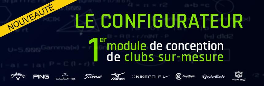 Golf Plus lance son tout nouveau configurateur de clubs