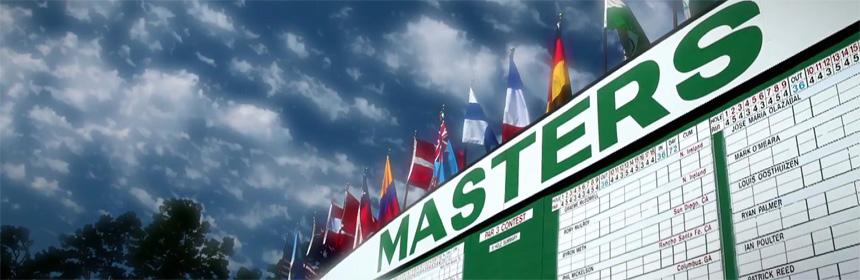 Les groupes au départ du Masters - Augusta