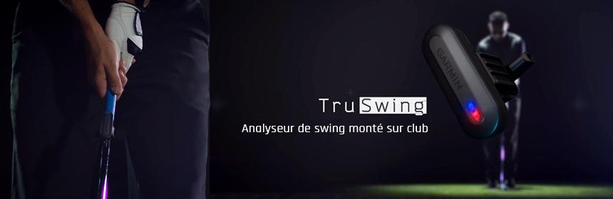 TruSwing, le nouvel analyseur de swing Garmin