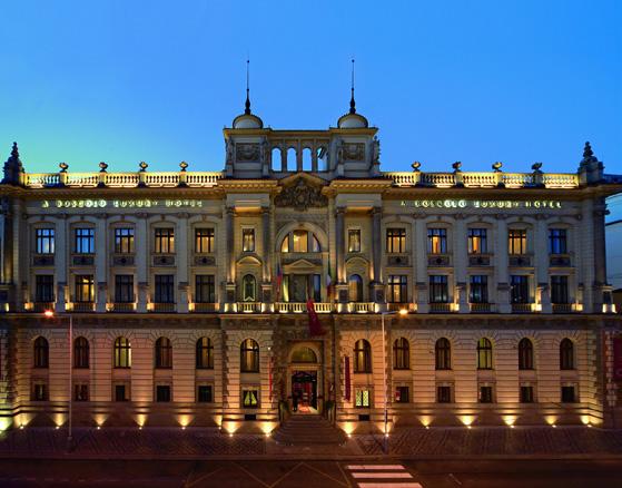 L'Hôtel Boscolo ***** est le plus majestueux de Prague