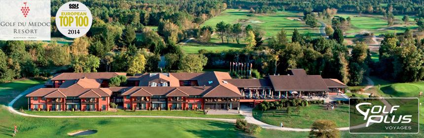 Vue d'ensemble de l'Hôtel du Médoc Golf & Spa