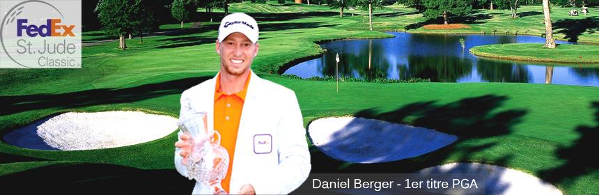 Daniel Berger remporte son premier titre PGA