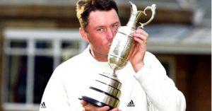 Todd Hamilton, vainqueur de The Open 2004 à Royal Troon