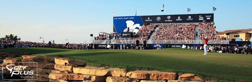 séjour golf dubai dp world tour