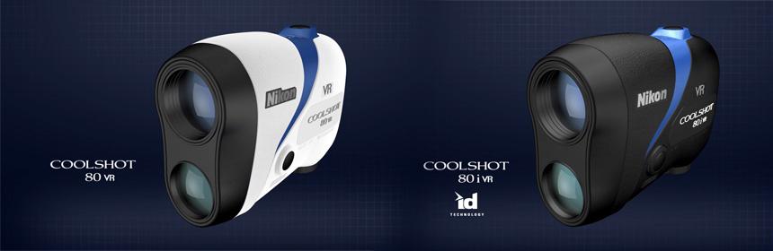 nouveaux telemetres nikon coolshot 80 VR et coolshot 80 iVR