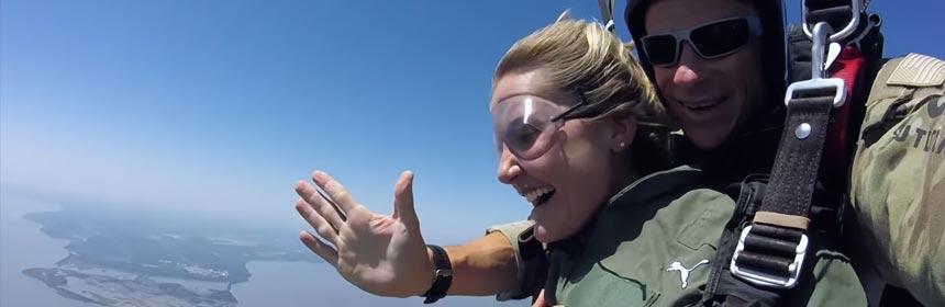 lexi thompson saut en parachute