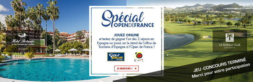 Jeu concours Open de France   Plus de 40 lots à gagner dont des voyages cefdbadfe48