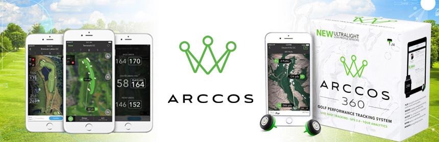 arccos 360 capteur golf