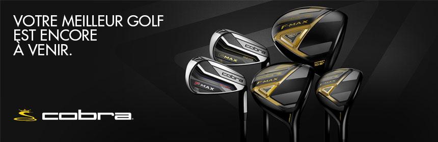 Cobra Golf and the F-MAX range