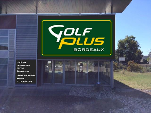 le magasin golf plus bordeaux change de lieu promotions golf. Black Bedroom Furniture Sets. Home Design Ideas