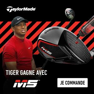 Tiger gagne avec M5 !