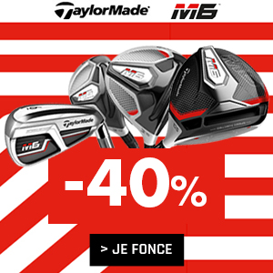 Gamme TaylorMade M6 !