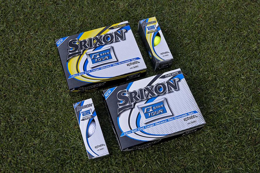 Boîtes de balles Srixon Q Star Tour par 3 et par douze balles