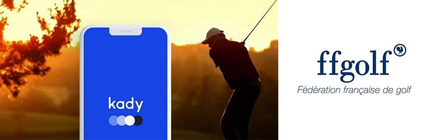La Fédération Française de golf lance son application de gestion personnelle !
