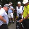 Le drive d'Hideki Matsuyama termine dans le polo d'un spectateur ! (vidéo)